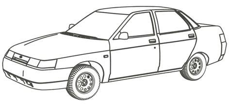 lada da disegno раскраски машины бесплатные картинки для мальчиков