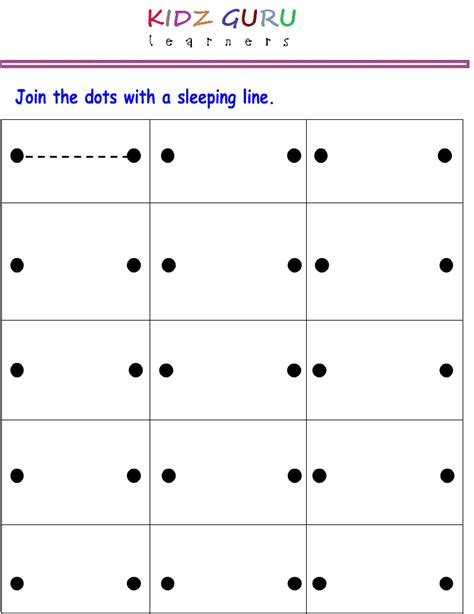 sleeping line pattern worksheets for kindergarten kindergarten worksheets printable tracing worksheets for