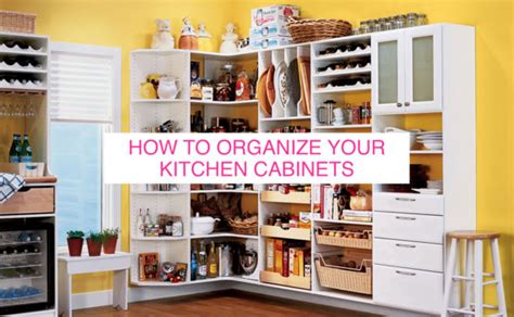 Tips For Organizing Your Kitchen Cabinets How To Organize Your Kitchen Cabinets Huffpost