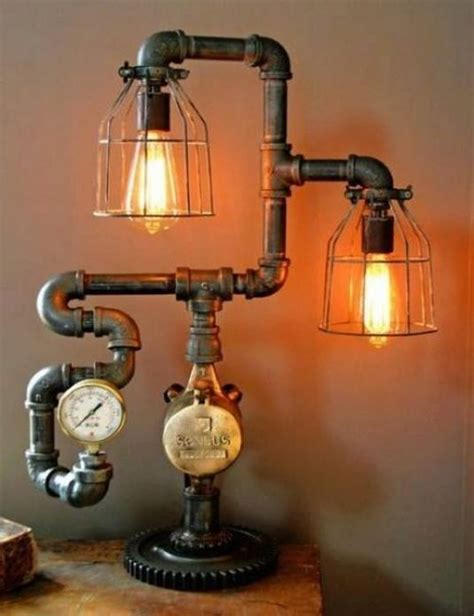 Kitchen Faucet Outlet by 16 Sculptural Industrial Diy Pipe Lamp Design Ideas Able