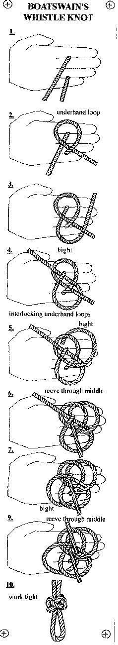 boatswain s whistle knot 17 best images about pletenje i prepleti kanapom on