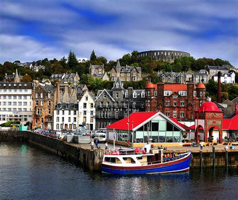 Oban Scotland oban you may fall in corners of the world