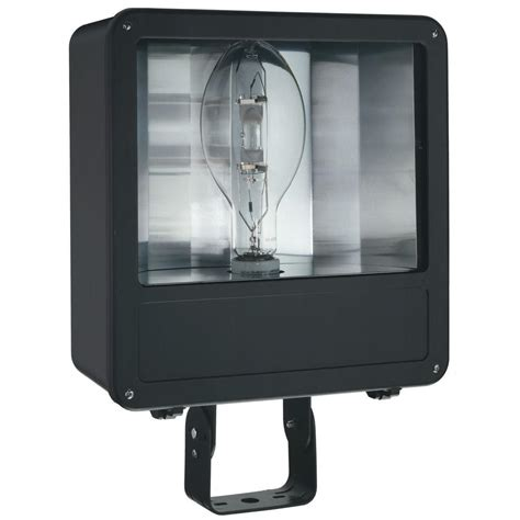 Flood Light Fixtures Outdoor Lithonia Lighting 2 L Bronze Outdoor Flood Light Oftm 300q 120 Lp Bz M6 The Home Depot