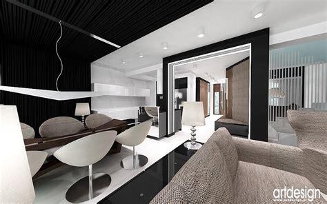 Nowoczesny Layout | nowoczesny design wnętrz aranżacja salon kuchnia
