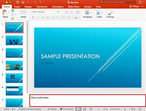 Notes Pane In Powerpoint 2016 For Mac Powerpoint And Presenting Stuff Powerpoint Templates For Mac 2016