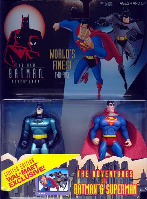 Mainan Figurin Superman Batman Worlds Finest Figure Isi 2 81507 worlds finest two pack adventures batman superman figures