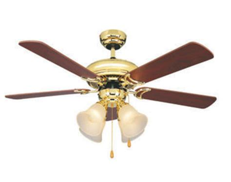 turn of the century fans turn of the century 174 minerva 44in bright brass ceiling
