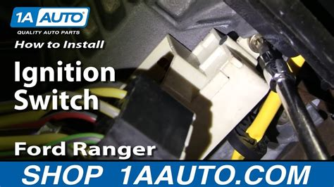 install replace ignition switch ford ranger