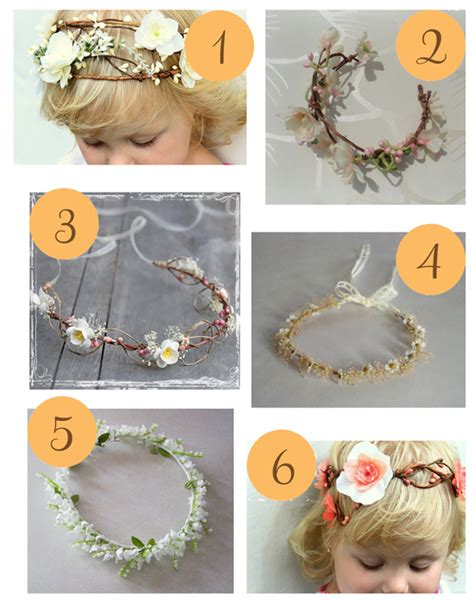 How To Make A Flower Crown Out Of Paper - etsy roundup deliciate flower crowns