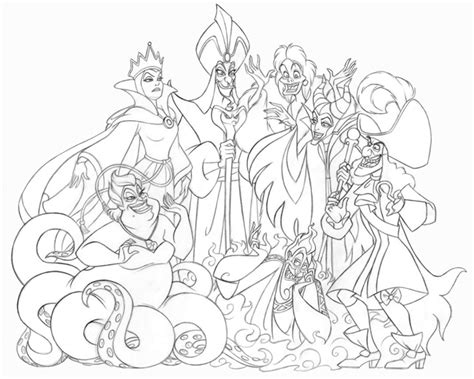 disney villains coloring pages all disney villains coloring pages coloring pages