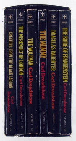 complete  book universal horror library set  bride