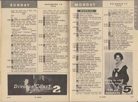 day tv guide december 15 21 1962 tv guide st lou