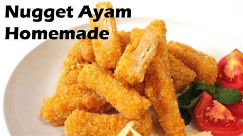 cara membuat nugget ayam keju cara membuat nugget ayam homemade lezat dan mudah youtube