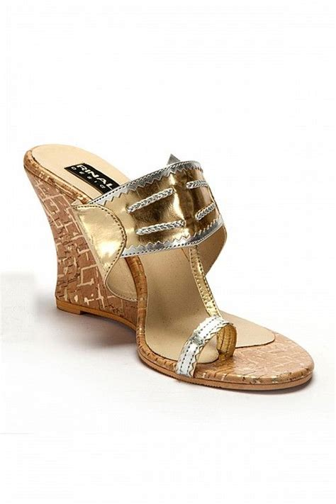 Sandal Ethnic India golden kolhapuri wedges ux ui designer for and