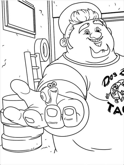 dreamworks turbo coloring printable coloring pages
