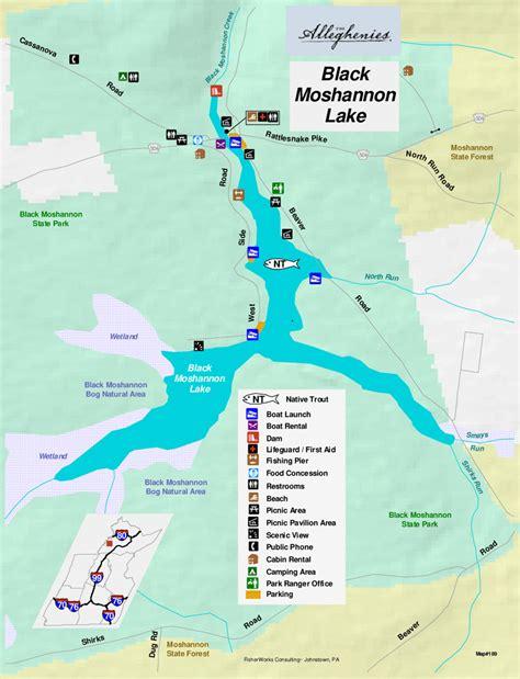 pa boat commission launch permit black moshannon lake the alleghenies