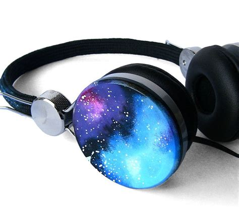 Headset Galaxy new space galaxy nebula custom headphones earphones