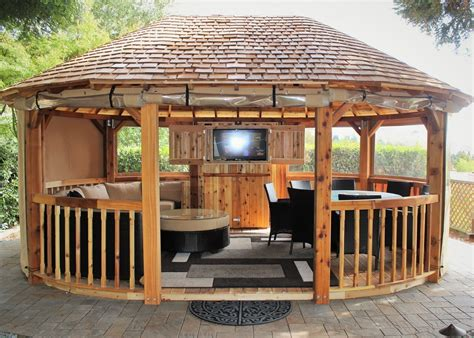 outdoor patio gazebos gazebos for enjoying outdoor time furnitureanddecors