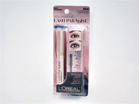 Harga Loreal Voluminous Lash Paradise l oreal voluminous lash paradise mascara review cosmetics
