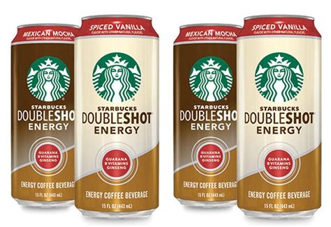 energy drink starbucks starbucks doubleshot energy drinks adds spice with two new