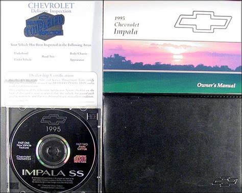 1995 new chevrolet impala ss original owners manual service guide book 95 oem for sale 1995 chevy impala ss owners manual package new with cd and chevrolet envelope ebay