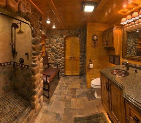 log cabin badezimmerideen this bathroom bad duschen