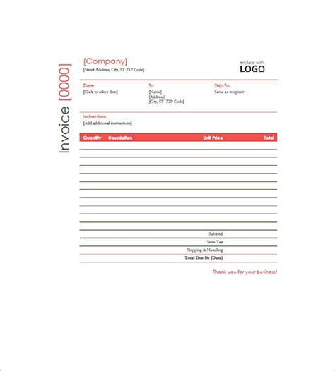 construction company invoice template construction invoice templates