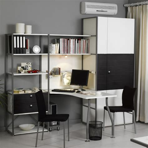 Apartments Contemporary Home Office Design Ideas With Wall Office Desk
