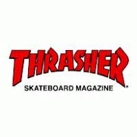 Thrasher Font None by Thrasher Magazine Brands Of The World Vector