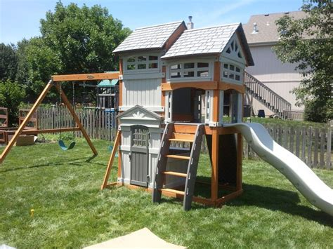 swing sets with installation pin by victoria zagata on for the home pinterest