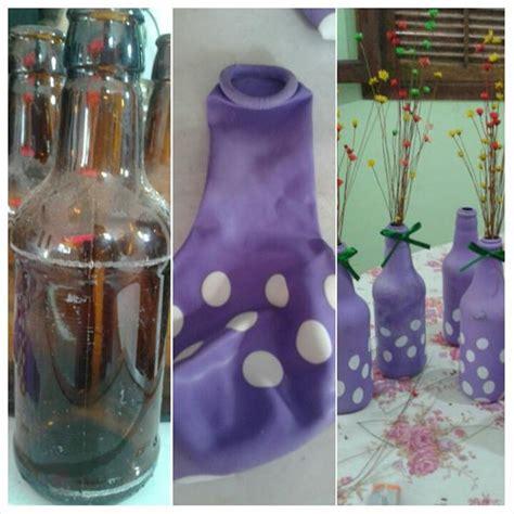 passo a passo de como decorar garrafa bexiga como encapar garrafas bexigas