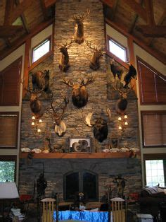 Lodge Themed Home Decor 1000 images about hunting trophy rooms on pinterest