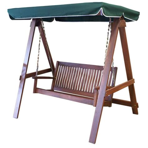 outdoor swing bench with canopy 2 seater outdoor swing bench with green canopy buy