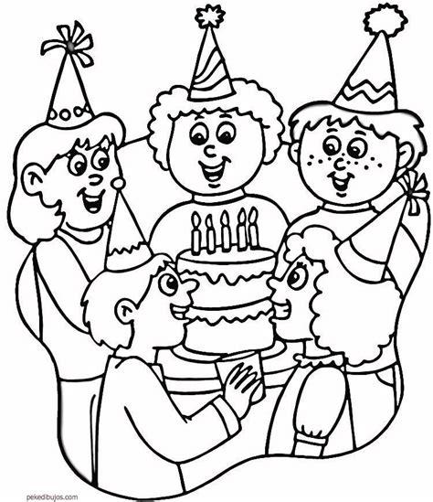 Imagenes Para Festejar Cumpleaños | dibujos de cumplea 241 os para colorear