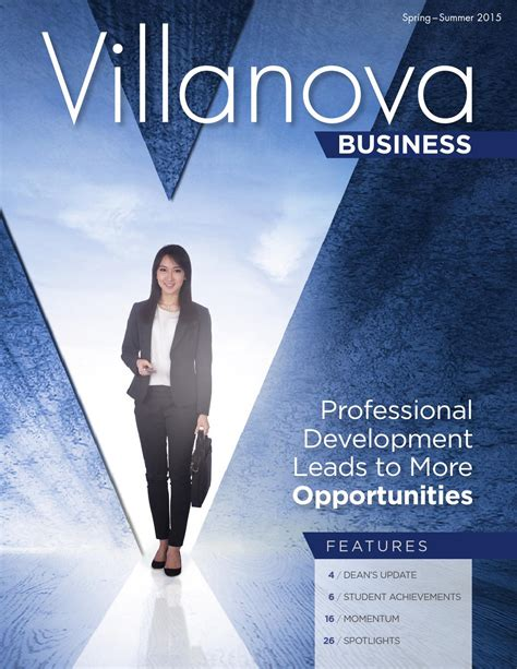 Villanova Mba Ranking 2015 by Summer 2015 Villanova Business Magazine By