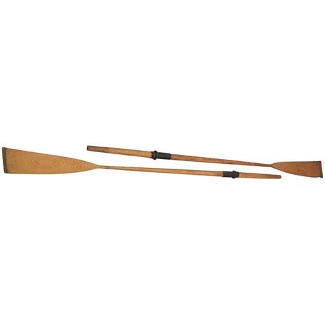 metal boat oars vintage wooden boat oars at 1stdibs