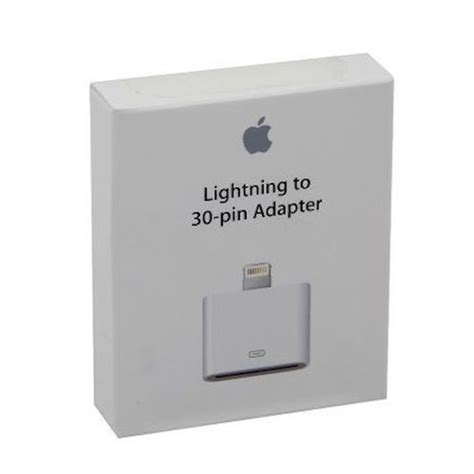 Apple 30 Pin To 8 Pin Lightning Converter Adapter Putih phone tablet accessories syncing charging