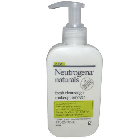 Detox Cosmetics by Neutrogena Naturals Fresh Cleansing Makeup Remover 6