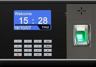Mesin Absensi Magnetic Card kartu atau sidik jari mana mesin absensi karyawan yang