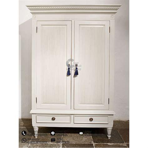 Lemari Vintage lemari pakaian vintage 2 pintu createak furniture