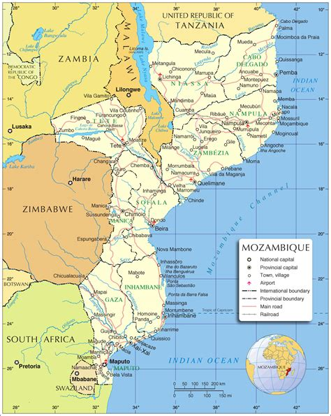 mozambique in world map mozambique map map of mozambique mozambique map in