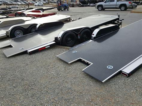 custom trailer sales open car haulers motorcycle trailers