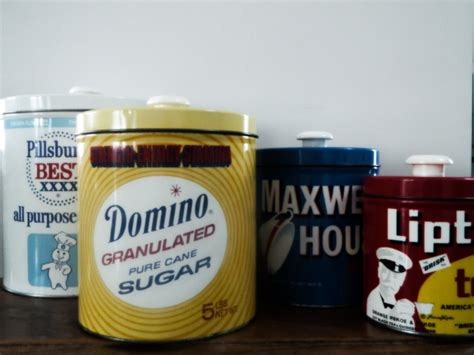 vintage metal kitchen canister sets tin kitchen canister sets vintage retro metal tin