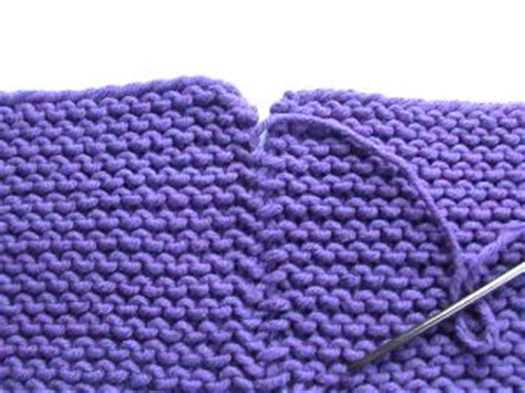 how to sew seams knitting knitty