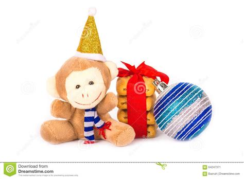 new year monkey cookies monkey and cookies stock photo image 64247371