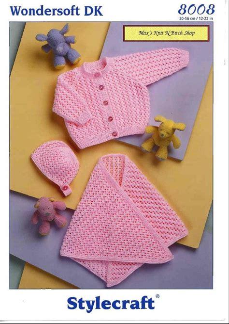 stylecraft knitting patterns to vintage pdf baby knitting pattern stylecraft 8008