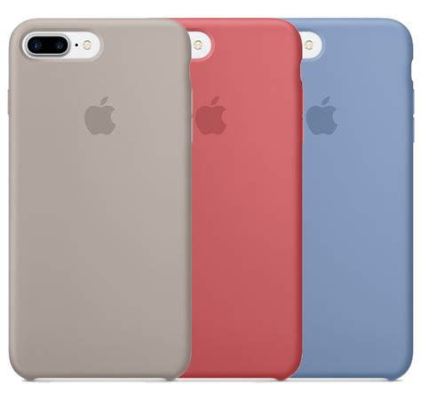 Iphone 7 Plus Apple Premium Leather Liguid Silicone apple launches new iphone 7 iphone 7 plus colors in silicone and leather