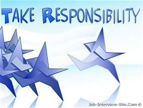 Examples On How To Make A Resume by Responsibility At Work Responsibilities To Take For