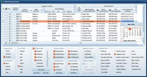 devexpress layout view hide caption x files components x dbgrid x dbnavigator components