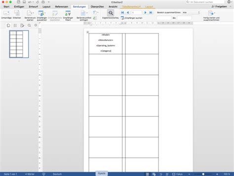 Etiketten In Excel Erstellen by Exce Word Seriendruck Auf Etiketten Pc Microsoft Excel